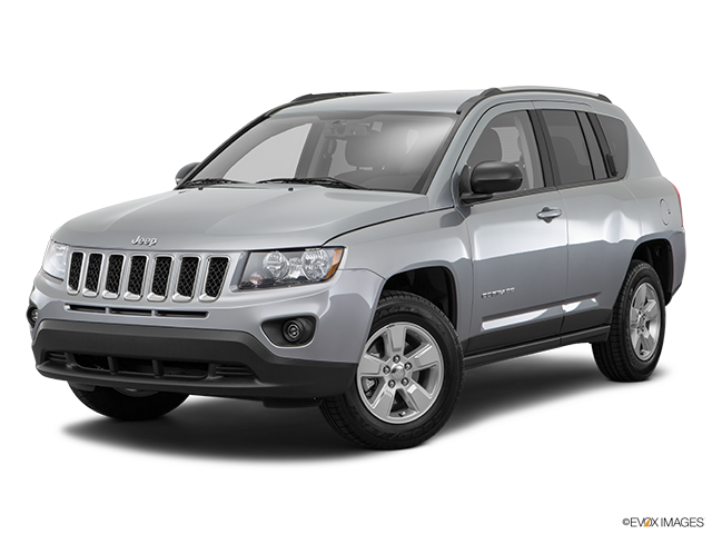 2017 jeep compass review carfax vehicle research. Black Bedroom Furniture Sets. Home Design Ideas