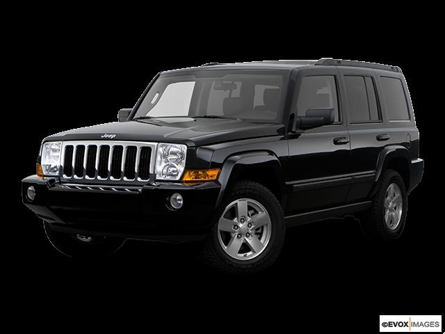 2008 Jeep Commander Review