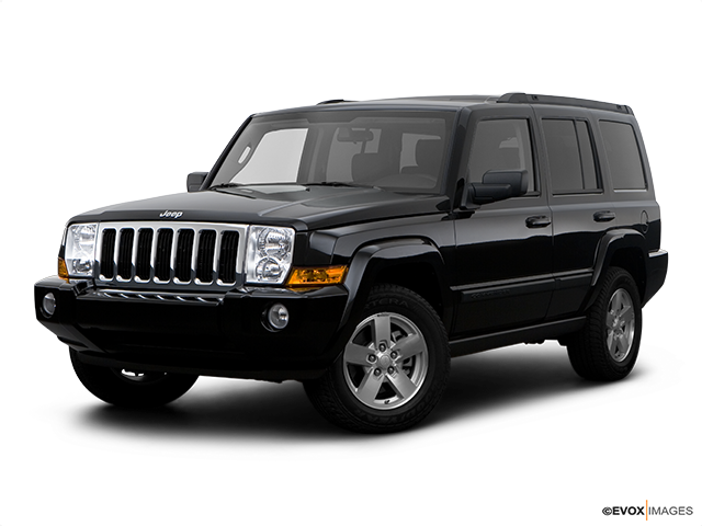 Perfect 2008 Jeep Commander Review