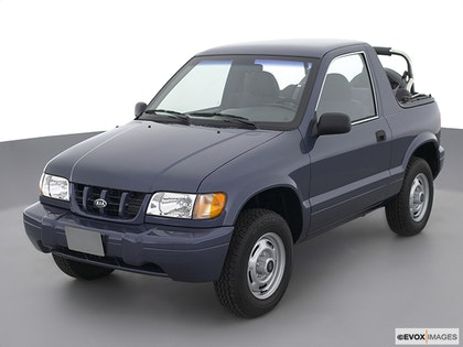 2002 Kia Sportage photo