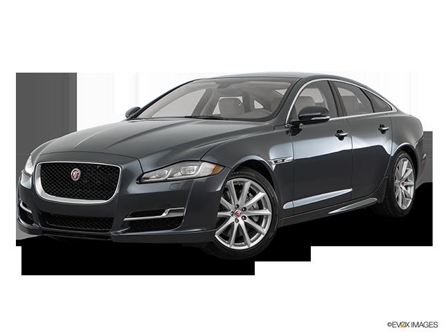 JAGUAR XE 2015 ONWARDS TAILORED BLACK CAR MATS WITH RED TRIM