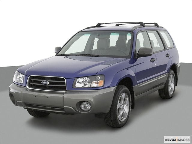 2003 Subaru Forester Review
